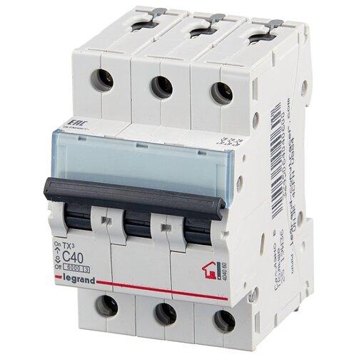 Автоматический выключатель Legrand TX3 3P (C) 6kA 40 А