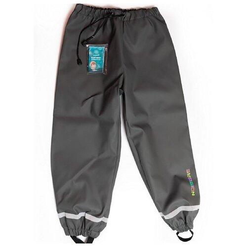 Купить Брюки Symbion размер 134, серый, Полукомбинезоны и брюки