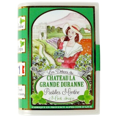 Леденцы SiC Delices Du Chateau La Grande Duranne со вкусом мяты 35 г цена 2017