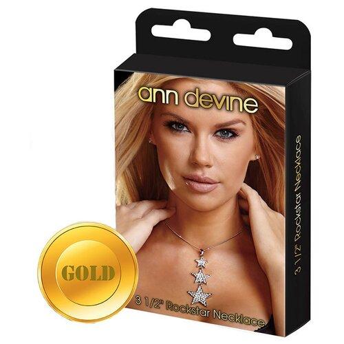 Ann Devine Цепочка с подвеской Rockstar Gold