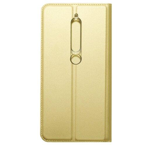 Чехол Akami Book Case для Nokia 6.1 (2018) золотой