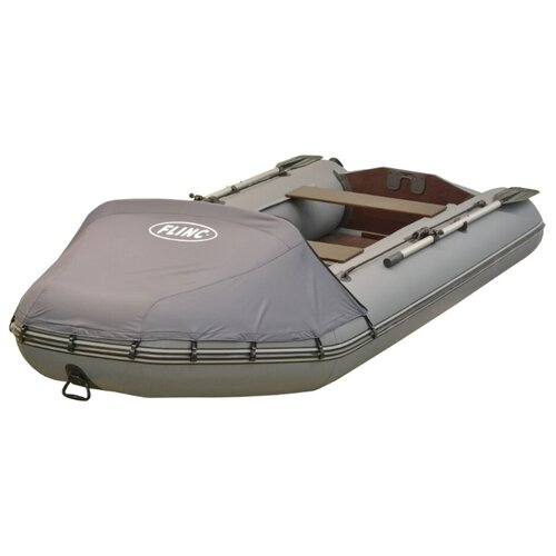 Фото - Надувная лодка Flinc FT320L Люкс (с тентом) серый надувная лодка flinc ft340к зеленый