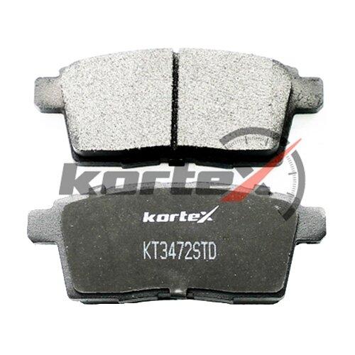 Фото - Дисковые тормозные колодки задние KORTEX KT3472STD для Mazda CX-7 (4 шт.) дисковые тормозные колодки передние ferodo fdb4446 для mazda 3 mazda cx 3 4 шт