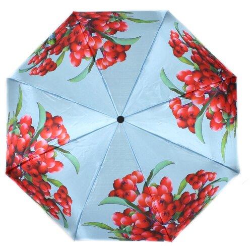 Зонт автомат FLIORAJ 190210 FJ голубой/красный зонт автомат senz crystal retail 1021105