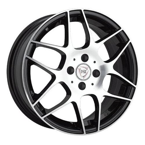 Фото - Колесный диск NZ Wheels F-32 6x14/4x98 D58.6 ET35 BKF колесный диск nz wheels sh665 5 5x14 4x98 d58 6 et35 bkf