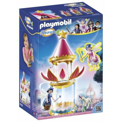 Набор с элементами конструктора Playmobil Super 4 6688 Цветочная Башня с Твинкл набор с элементами конструктора playmobil city life 9078 шопинг торговый центр