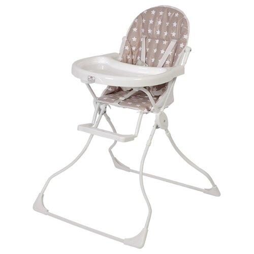 Фото - Стульчик для кормления Polini 152 звезды макиато-белый стульчик для кормления polini 152 розовый