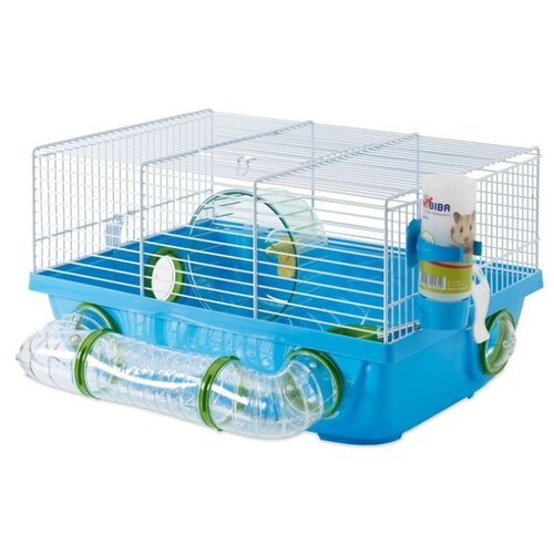 Клетка для грызунов SAVIC Billy Metro 5063-0500 42.5х38х23 см голубой/белый
