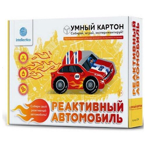 Купить Набор Intellectico Реактивный автомобиль, Наборы для исследований