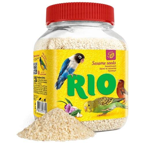 Лакомство для птиц RIO кунжут 250 г лакомство для всех видов птиц rio сенегальское просо в колосьях 100 г