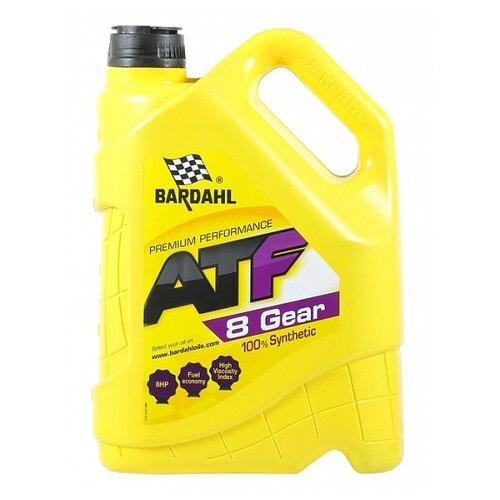 Трансмиссионное масло Bardahl ATF 8G 5 л