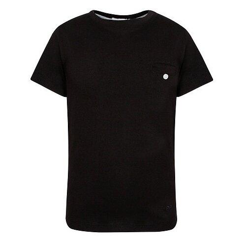 Футболка Paolo Pecora размер 140, черный/белый футболка paolo pecora размер 128 белый