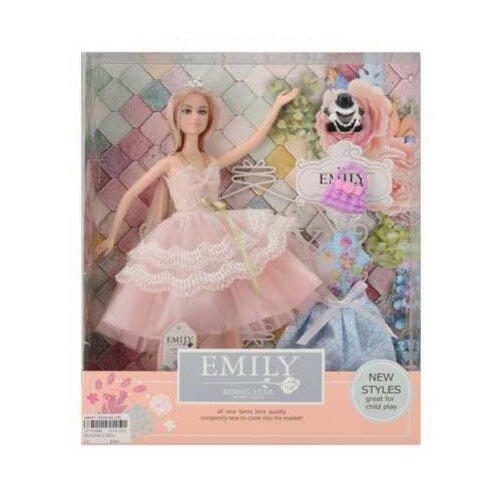 Купить Кукла Junfa toys Эмили Розовая серия, 30 см, QJ077C, Куклы и пупсы