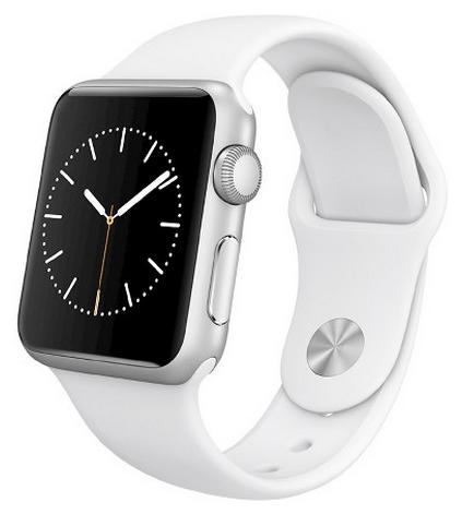Ремешок для Apple watch 38mm Sport Band белый