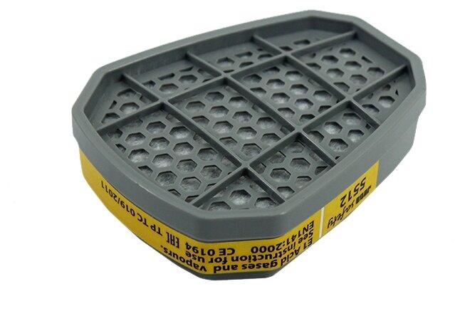 Противогазовый фильтр JETA SAFETY 5512, 2 шт.