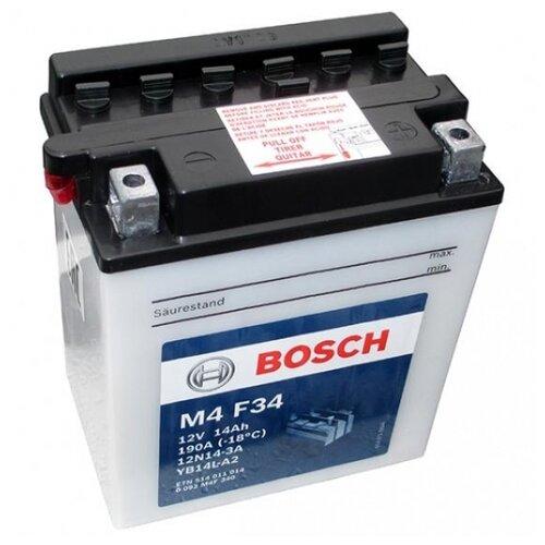 Аккумулятор Bosch M4 F34 (0 092 M4F 340)