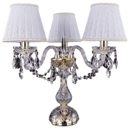 Настольная лампа Bohemia Ivele Crystal 1406L/3/141-39 G SH13A-160, 120 Вт настольная лампа bohemia ivele 7003 1 33 gw sh2 160
