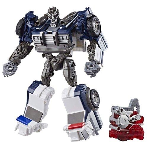 Трансформер Hasbro Transformers Баррикейд. Заряд энергона: Найтро (Трансформеры 6) E0755 синий/белый/серый hasbro transformers b0067 трансформеры роботс ин дисгайс гиперчендж стилджо