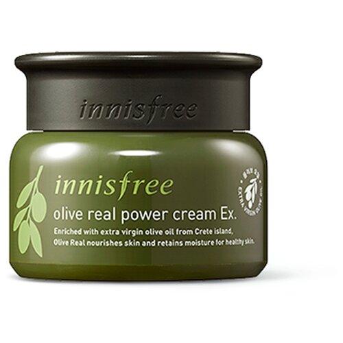 цена на Innisfree Olive Real Power Cream EX крем для лица с маслом оливы, 50 мл