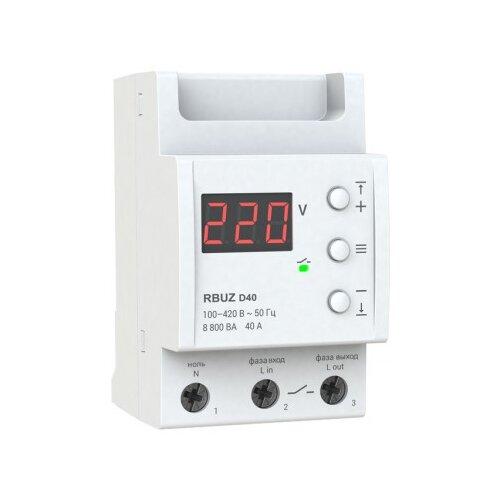 Реле контроля напряжения RBUZ D-40 реле контроля напряжения rbuz d2 40