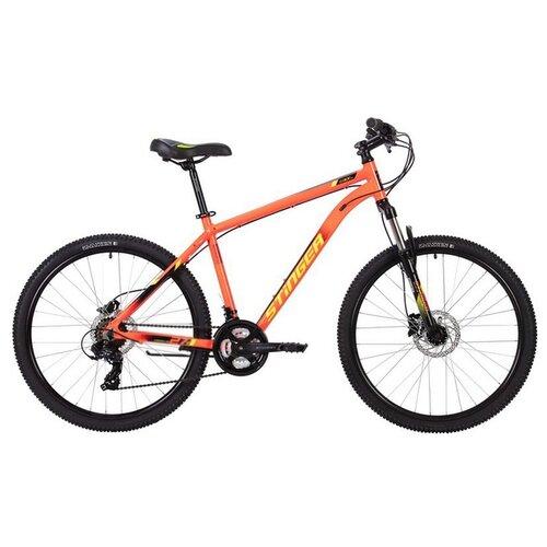 Горный (MTB) велосипед Stinger Element Pro 27.5 (2020) красный 18