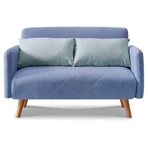 Диван iModern Cardiff размер: 127х85 см, спальное место: 190х110 см, обивка: ткань, голубой