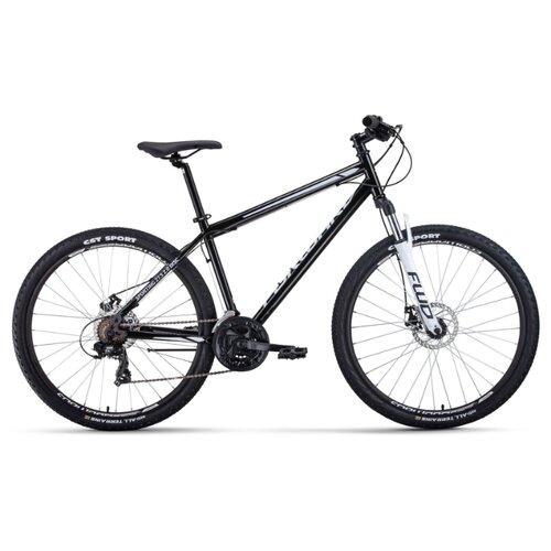 цена на Горный (MTB) велосипед FORWARD Sporting 27.5 2.0 Disc (2020) черный/белый 19