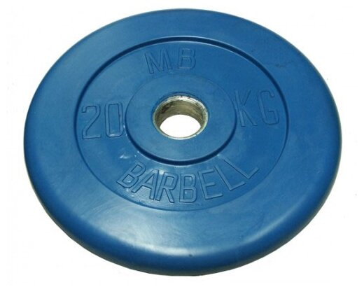 Диск MB Barbell Стандарт MB-PltC31 20 кг