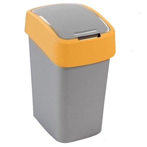 Ведро CURVER Flip Bin 02171, 25 л оранжевый