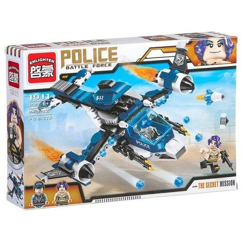 Купить Конструктор Qman Police Battle Force 1911 Секретный арест, Конструкторы