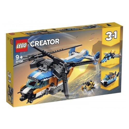 Конструктор LEGO Creator 31096 Двухроторный вертолёт lego city 60179 вертолёт скорой помощи lego