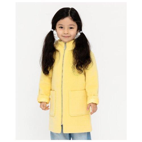 Пальто Gulliver 12002GMC4502 размер 110, желтый