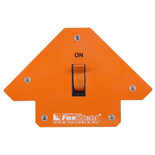 Магнитный угольник FoxWeld SHIFT-4 оранжевый магнитный угольник start sm1603 75 lbs красный