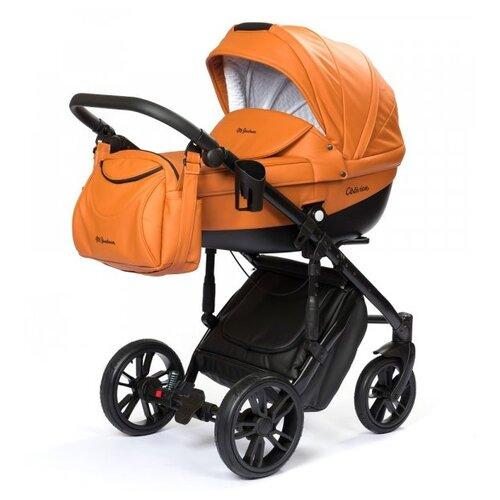 Купить Коляска для новорожденных Mr Sandman Oblivion Ecco (люлька), 11 оранжевый, Коляски