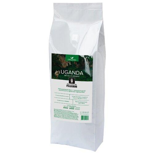 Кофе в зернах la famiglia Pellegrini Uganda Organic Sipi Falls, арабика, 1000 г кофе в зернах la famiglia pellegrini barista professional blend арабика робуста 1000 г