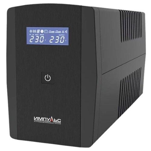 Интерактивный ИБП ИМПУЛЬС ЮНИОР СМАРТ 600 (JS60114) черный