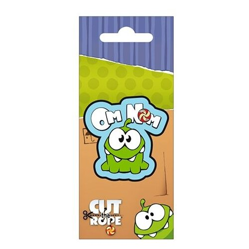 Магнит e-Best Cut the Rope Om Nom (СМ017)