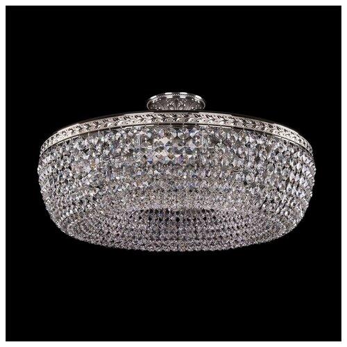 Фото - Люстра Bohemia Ivele Crystal 1903 19031/55IV Ni, E14, 320 Вт bohemia ivele crystal 1903 19031 45iv gb