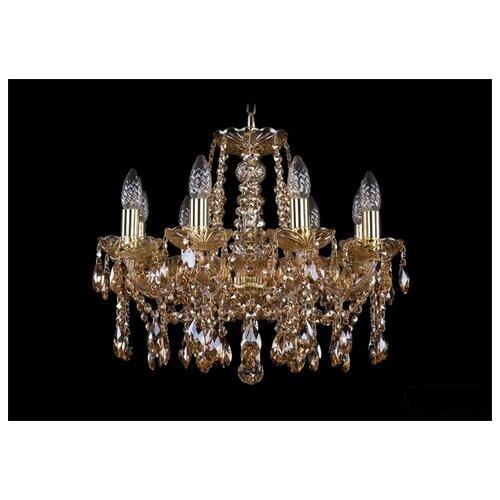 Люстра Bohemia Ivele Crystal 1413/8/165/G/M721, E14, 320 Вт