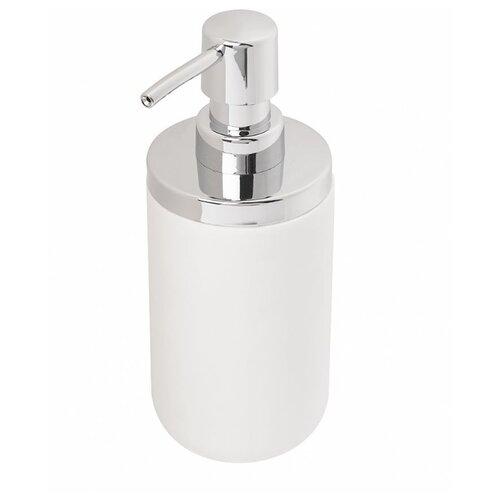 Дозатор для жидкого мыла Umbra Junip 1008027 белый/хром umbra декоративные цветы umbra delica для стен белый 8 элементов 8pu mi do