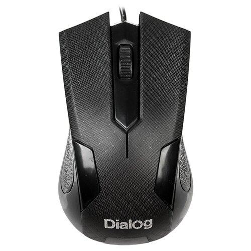 Dialog MOP-08U Black USB черный