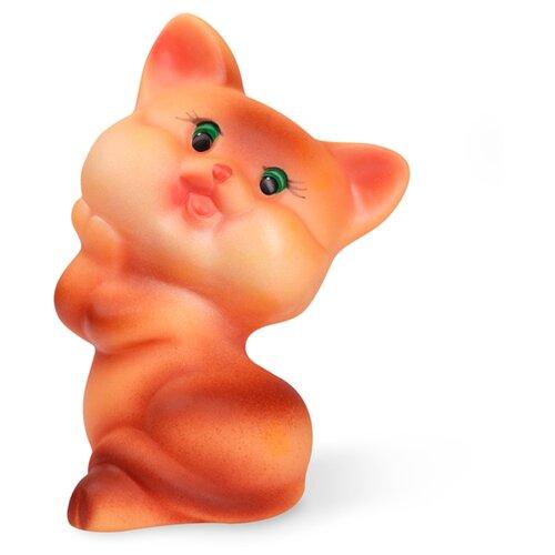 Купить Игрушка для ванной ОГОНЁК Кошка Матрешка (С-536) коричневый, Игрушки для ванной