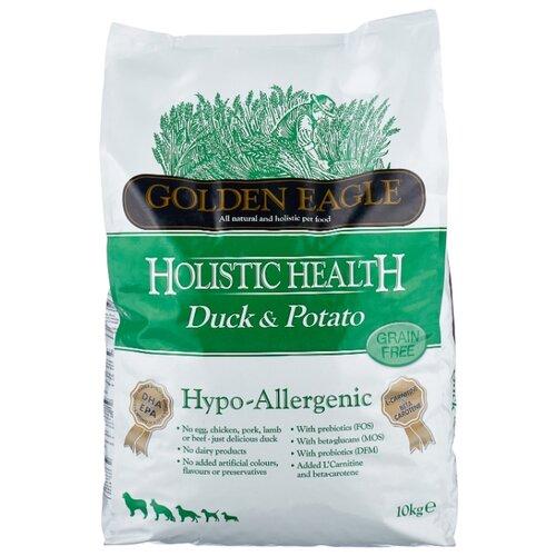 Корм для собак Golden Eagle Hypo-allergenic Duck & Potato 26/12 (10 кг) корм для собак golden eagle 2 кг hypo allergenic salmon