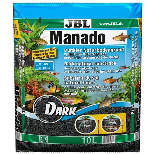 Грунт JBL Manado Dark 10 л, 8.2 кг черный