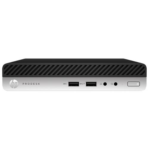 Купить Настольный компьютер HP ProDesk 400 G5 DM (8VR70ES) Tiny-Desktop/Intel Core i5-9500T/8 ГБ/512 ГБ SSD/Intel UHD Graphics 630/Windows 10 Pro серебристый/черный