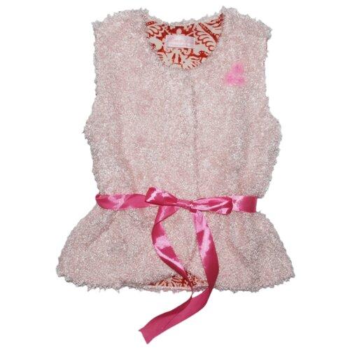 Купить Жилет Mister Bon & Miss Bon размер 128-32, розовый, Жилеты