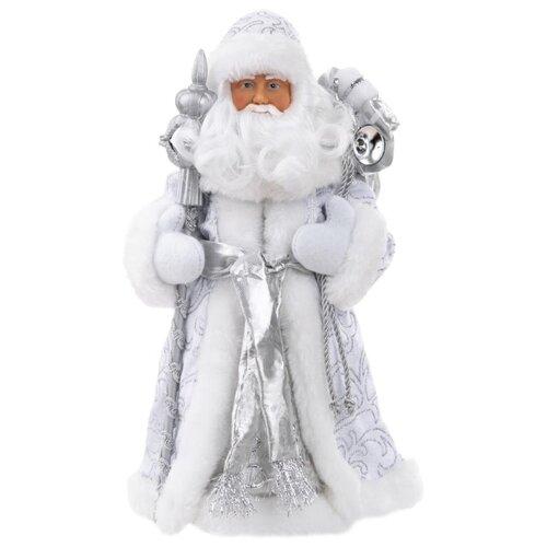 Фигурка Феникс Present Дед Мороз 30,5 см серебряный