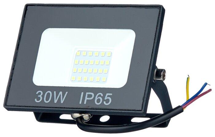 Прожектор светодиодный 30 Вт ОНЛАЙТ OFL-30-4K-BL-IP65-LED