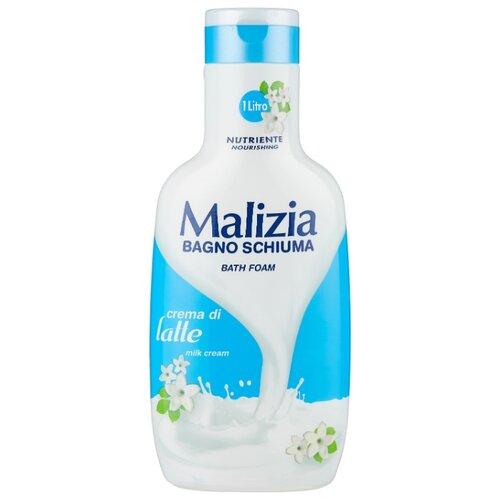 Malizia Пена для ванн Milk cream 1000 мл