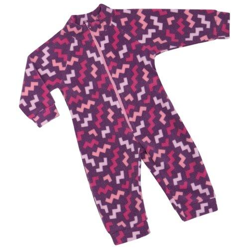 Комбинезон ALENA КБ08-2940 (26/27/28) размер 104-110, 28 фиолетовый комбинезон alena кб08 2940 19 22 размер 104 110 22 розовый